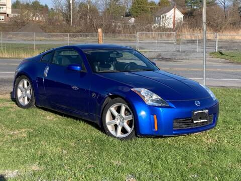 2003 Nissan 350Z for sale at Saratoga Motors in Gansevoort NY