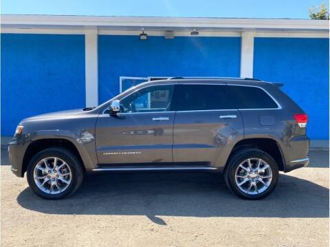2014 Jeep Grand Cherokee for sale at Khodas Cars in Gilroy CA