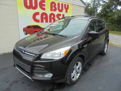 2013 Ford Escape for sale at Right Price Auto Sales in Murfreesboro TN