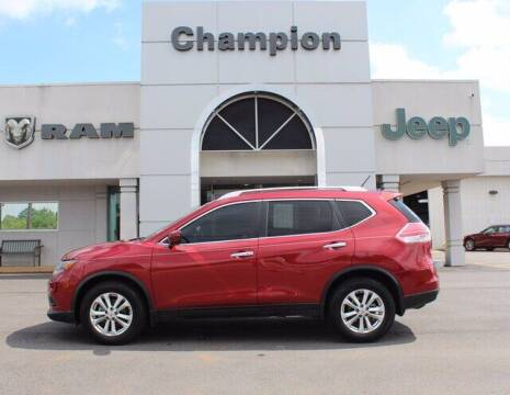 2016 Nissan Rogue for sale at Champion Chevrolet in Athens AL