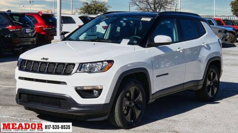 2021 Jeep Compass for sale at Meador Dodge Chrysler Jeep RAM in Fort Worth TX
