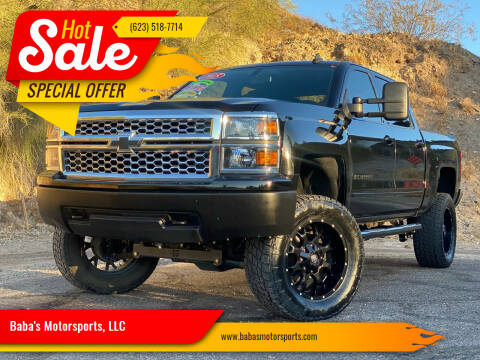 2015 Chevrolet Silverado 1500 for sale at Baba's Motorsports, LLC in Phoenix AZ