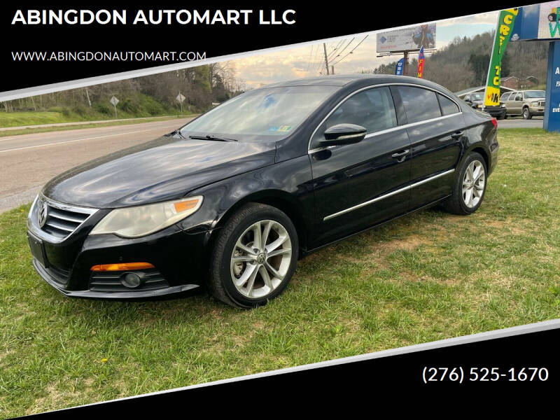 2009 Volkswagen CC for sale at ABINGDON AUTOMART LLC in Abingdon VA