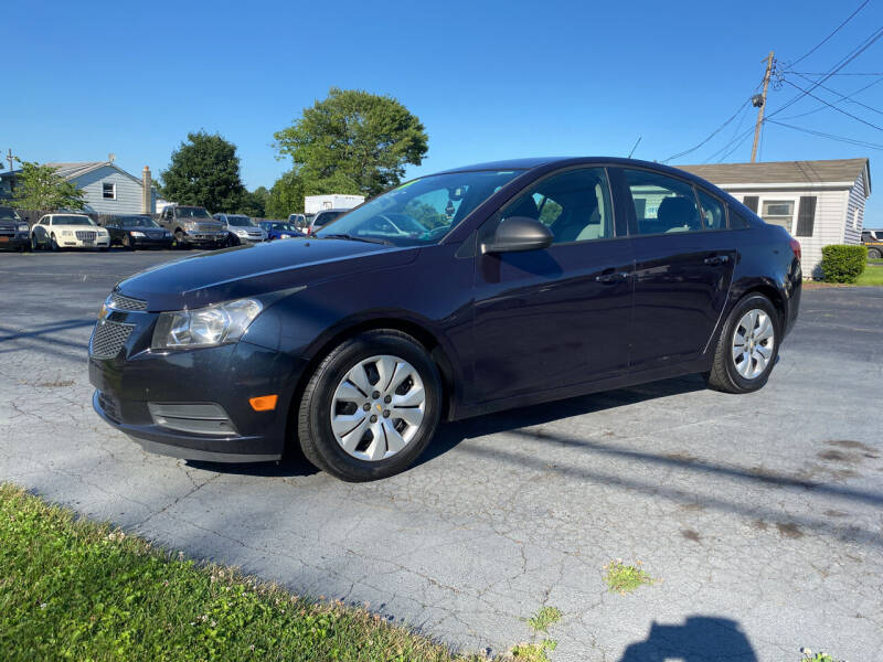 2014 Chevrolet Cruze for sale at Barnsley Auto Sales in Oxford PA