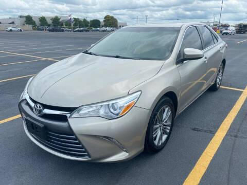 2015 Toyota Camry for sale at County Line Car Sales Inc. in Delco NC