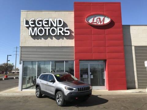 2019 Jeep Cherokee for sale at Legend Motors of Detroit - Legend Motors of Ferndale in Ferndale MI
