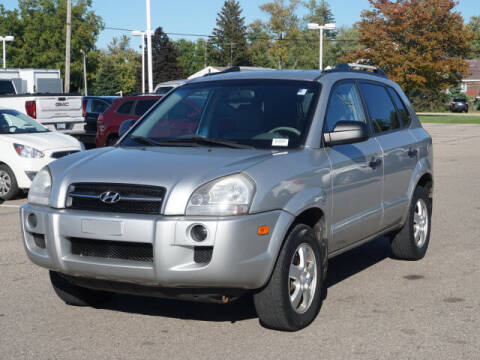 2007 Hyundai Tucson for sale at Suburban Chevrolet of Ann Arbor in Ann Arbor MI