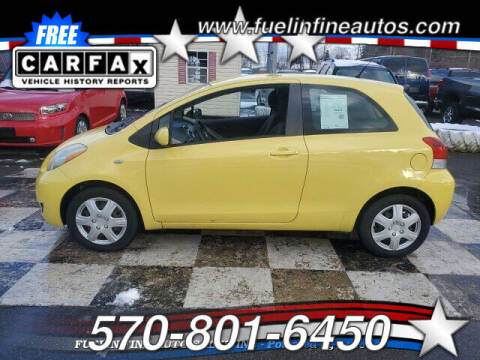 2009 Toyota Yaris for sale at FUELIN FINE AUTO SALES INC in Saylorsburg PA