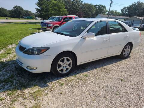 2002 Toyota Camry for sale at Moulder's Auto Sales in Macks Creek MO