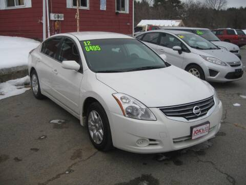 2012 Nissan Altima for sale at Joks Auto Sales & SVC INC in Hudson NH