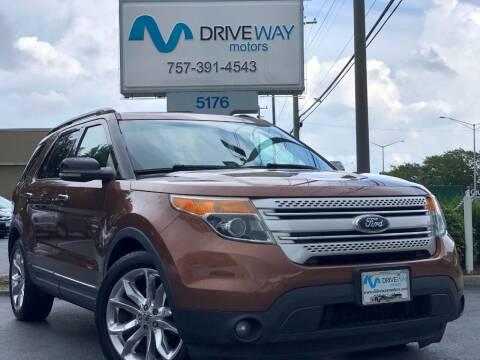 2011 Ford Explorer for sale at Driveway Motors in Virginia Beach VA