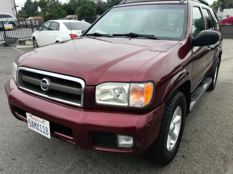 2003 Nissan Pathfinder for sale at Quality Car Sales in Whittier CA