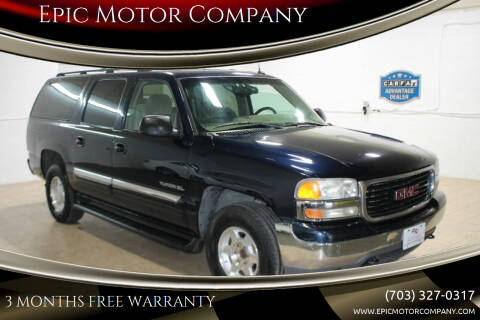 2005 GMC Yukon XL for sale at Epic Motor Company in Chantilly VA