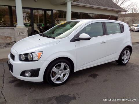 2015 Chevrolet Sonic for sale at DEALS UNLIMITED INC in Portage MI