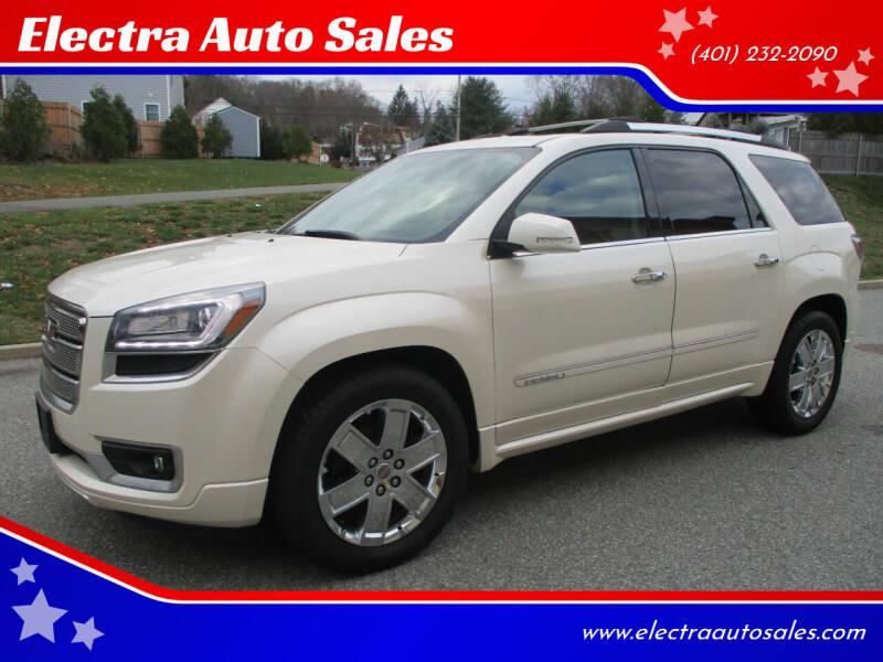 2014 GMC Acadia for sale at Electra Auto Sales in Johnston RI