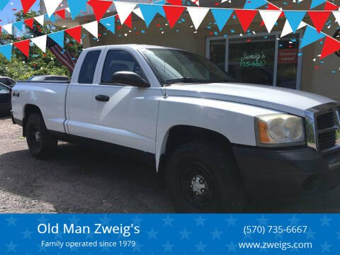 2007 Dodge Dakota for sale at Old Man Zweig's in Plymouth PA