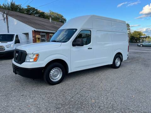 2015 Nissan NV Cargo for sale at J.W.P. Sales in Worcester MA