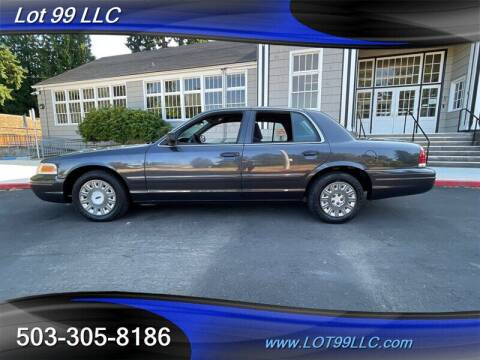 2004 Ford Crown Victoria for sale at LOT 99 LLC in Milwaukie OR