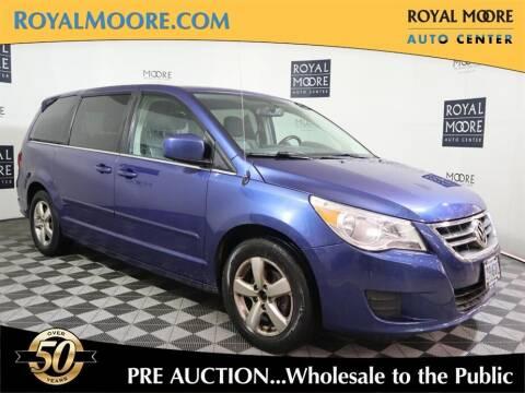 2010 Volkswagen Routan for sale at Royal Moore Custom Finance in Hillsboro OR