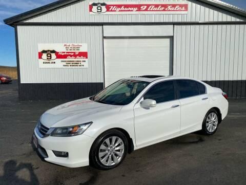 2014 Honda Accord for sale at Highway 9 Auto Sales - Visit us at usnine.com in Ponca NE