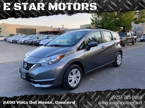 2018 Nissan Versa Note for sale at E STAR MOTORS in Concord CA