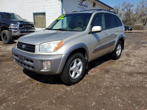 2001 Toyota RAV4 for sale at HORSEPOWER AUTO BROKERS in Fort Collins CO