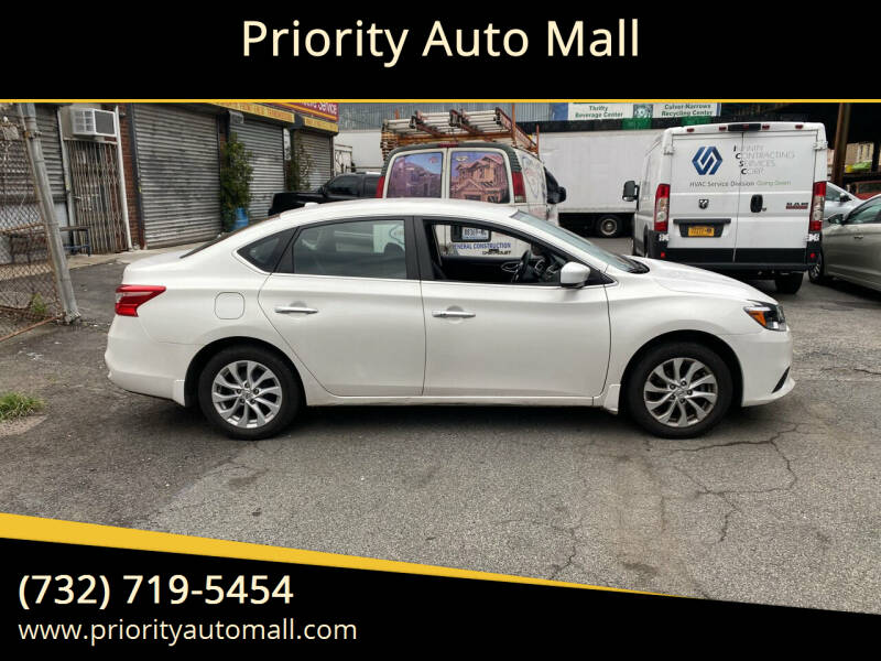 2018 Nissan Sentra for sale at Mr. Minivans Auto Sales - Priority Auto Mall in Lakewood NJ