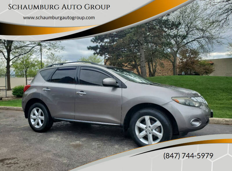 2009 Nissan Murano for sale at Schaumburg Auto Group in Schaumburg IL