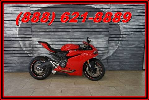 2016 Ducati 959 Red for sale at Motomaxcycles.com in Mesa AZ