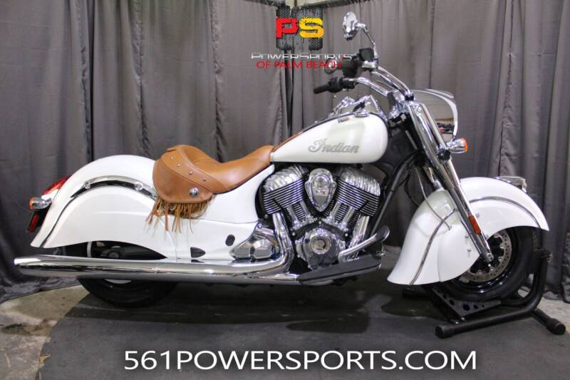 2016 Indian Chief® Classic for sale at Powersports of Palm Beach in Hollywood FL