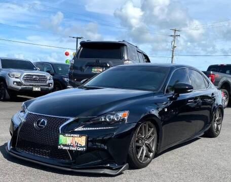 2015 Lexus IS 250 for sale at PONO'S USED CARS in Hilo HI