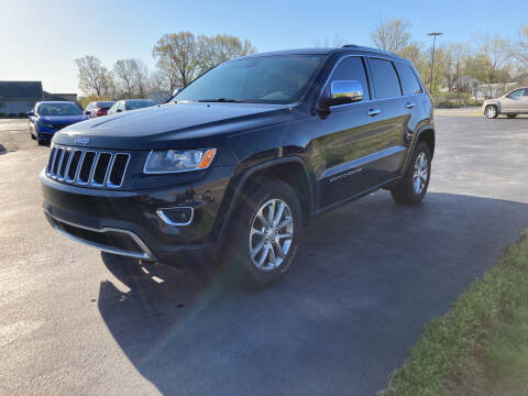 2014 Jeep Grand Cherokee for sale at McCully's Automotive - Trucks & SUV's in Benton KY