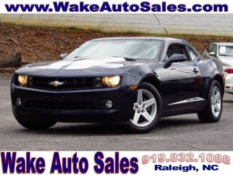 2010 Chevrolet Camaro for sale at Wake Auto Sales Inc in Raleigh NC