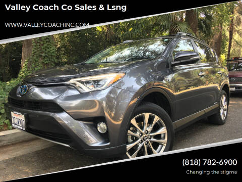 2017 Toyota RAV4 Hybrid for sale at Valley Coach Co Sales & Lsng in Van Nuys CA