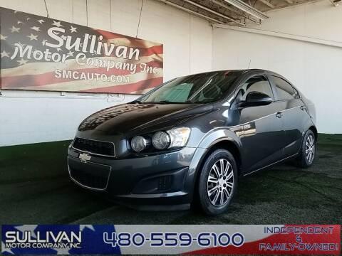 2016 Chevrolet Sonic for sale at SULLIVAN MOTOR COMPANY INC. in Mesa AZ