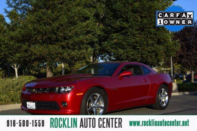 2015 Chevrolet Camaro for sale at Rocklin Auto Center in Rocklin CA