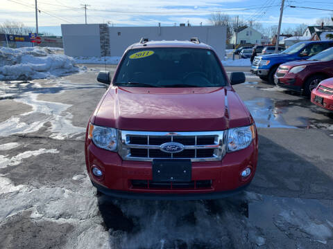 2011 Ford Escape for sale at L.A. Automotive Sales in Lackawanna NY