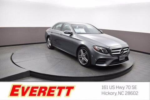 2018 Mercedes-Benz E-Class for sale at Everett Chevrolet Buick GMC in Hickory NC