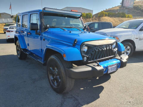 2015 Jeep Wrangler Unlimited for sale at Guy Strohmeiers Auto Center in Lakeport CA