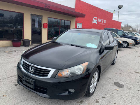 2010 Honda Accord for sale at New To You Motors in Tulsa OK