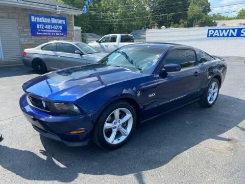 2011 Ford Mustang for sale at Brucken Motors in Evansville IN