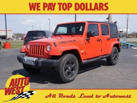 2013 Jeep Wrangler Unlimited for sale at Autowest Allegan in Allegan MI