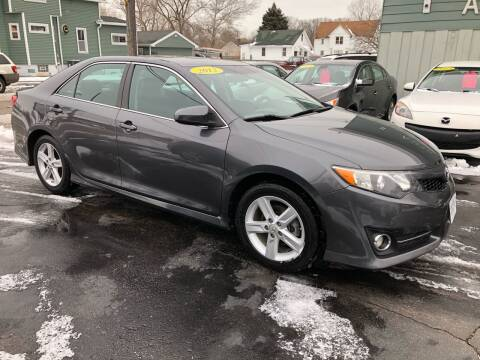 2012 Toyota Camry for sale at SHEFFIELD MOTORS INC in Kenosha WI