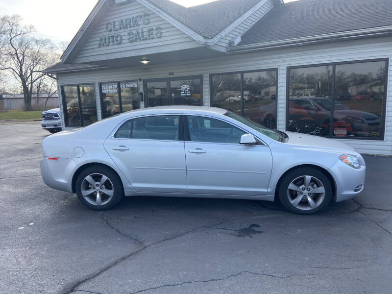 2011 Chevrolet Malibu for sale at Clarks Auto Sales in Middletown OH