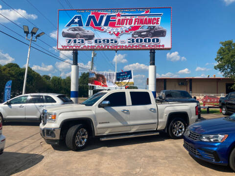 2014 GMC Sierra 1500 for sale at ANF AUTO FINANCE in Houston TX