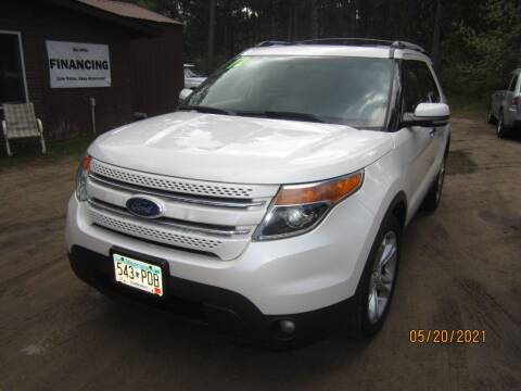 2012 Ford Explorer for sale at SUNNYBROOK USED CARS in Menahga MN