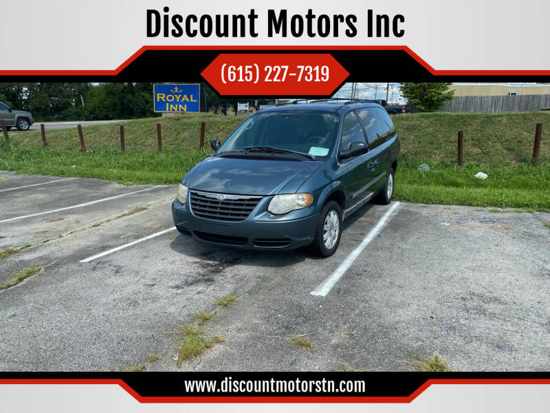 2006 Chrysler Town and Country for sale at Discount Motors Inc in Nashville TN