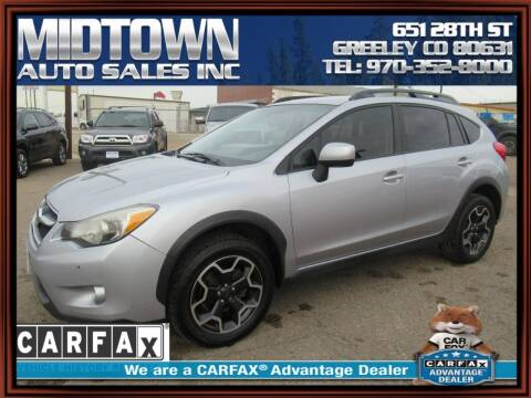 2014 Subaru XV Crosstrek for sale at MIDTOWN AUTO SALES INC in Greeley CO