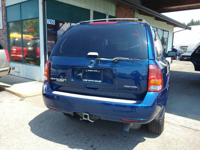 2002 Oldsmobile Bravada for sale at Low Auto Sales in Sedro Woolley WA