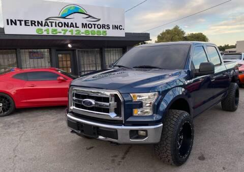 2017 Ford F-150 for sale at International Motors Inc. in Nashville TN